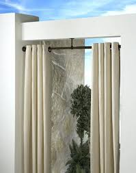 Outdoor Curtains Lowes Designs Indoor Outdoor Extension Curtain Rod 1 Diameter Curtainworkscom
