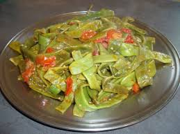 cuisiner des haricots plats haricots plats a la tomate et a l ail mes tests culinaires la