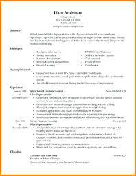 Resume Sles Templates by Sales Representative Resume Template 6 Sales Representative Resume