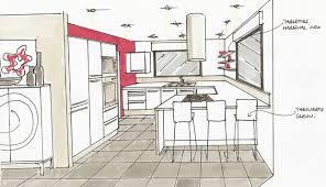 dessiner en perspective une cuisine logiciel dessin perspective great simplifiez le dessin en