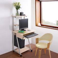 Shelf Computer Desk Mobile Computer Desk Ebay