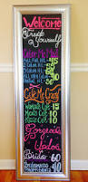 salon chalk board behind the chair pinterest salons board