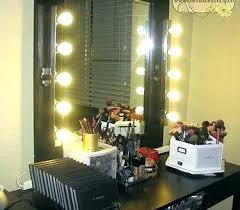 bed bath and beyond light up mirror idea lighted makeup mirror bed bath and beyond or lighted makeup