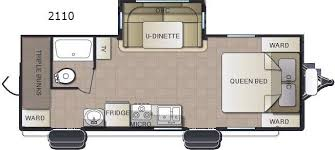 triple bunk travel trailer floor plans new pacific coachworks sea breeze 2110 travel trailer for sale
