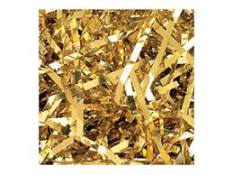 mylar shred mylar shred 5 lb ctn gold item 819010515