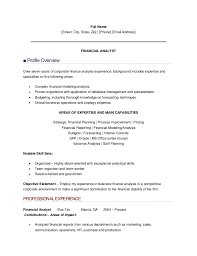 financial analyst sle resume 28 images budget analyst resume