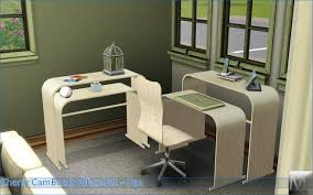 Cherry Laptop Desk by Mod The Sims Cherry Cambook Office Set