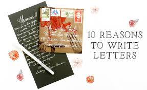 10 reasons to write letters the postman u0027s knock