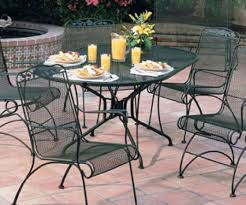 wrought iron outdoor dining table furniture black wrought iron outdoor dining set with round table