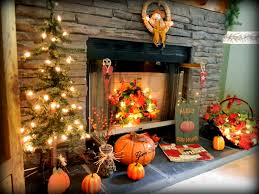 my fireplace decorations for fall for the home pinterest