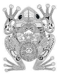 26 grenouilles images coloring books mandalas
