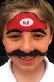 mario brothers n face painting face painting faces by gina