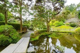 The Japanese Tea Garden In Golden Gate Park In San Francisco