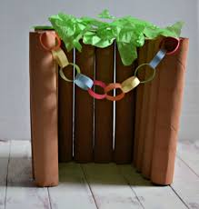 sukkot supplies make a model sukkah children s crafts kids