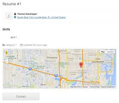 Google Job Resume by Resume Manager Geolocation U2013 Geo My Wp