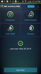 antivirus for android avg antivirus security 4 free for android review rating