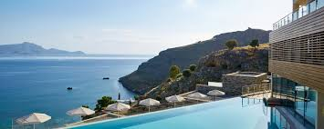 chambre adultes compl鑼e luxury hotel in lindos hotel in rhodos island greece