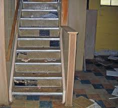 Asbestos In Basement by Home Basement Asbestos Floor Tile U0026 Stair Risers Asbestorama