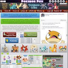 pokemonpets online free browser based mmo rpg pokémon game