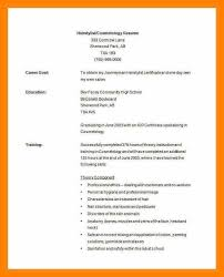 cosmetology resume templates 8 cosmetology resume templates prome so banko