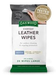 Upholstery Cleaning Wipes Everyday Leather Wipes U2013 Oakwood Household Product Range