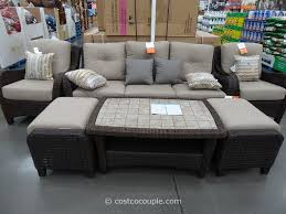 Deep Seating Patio Furniture Sets - exterior adjustable elegant patio furniture clearance costco for