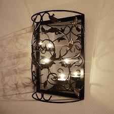Beautiful Wall Hanging Candle Holders In Home – Into The Glass