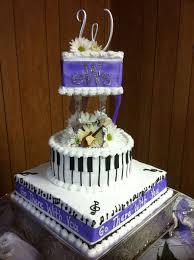 musical wedding cake 14 square 10 round 6 square white cake with