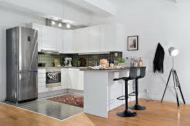 cuisine petit espace design plan de cuisine ouverte sur salle a manger 12 am233nagement