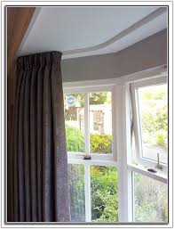 Ceiling Track Curtains Bay Window Ceiling Curtain Track 5306