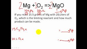 stoichiometry limiting reactant u0026 excess reactant stoichiometry
