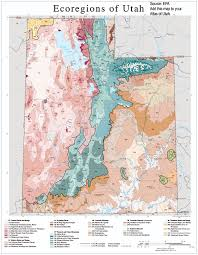 Maps Of Utah by Webtext Geography Of Utah