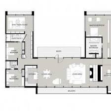 u shaped kitchen floor plan collection of u shaped house floor plans ideas u shaped kitchen