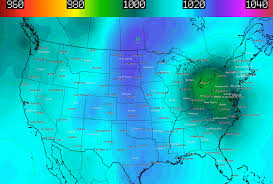 Alaska Weather Map by Polar Air Mass Near Alaska Due To Travel To Northeast Ohio Next