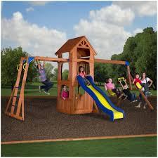 backyards trendy backyard discovery playsets woodridge ii wooden