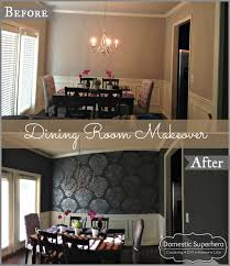 Dining Room Makeover Domestic Superhero - Dining room makeover