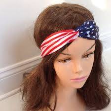 4th of july headband best american flag hair accessories products on wanelo