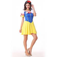 Snow White Halloween Costume Women Aliexpress Buy 2017 Fashion Halloween Costume Snow