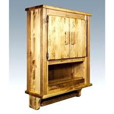 rustic bathroom storage cabinets bath wall cabinets iamfiss com