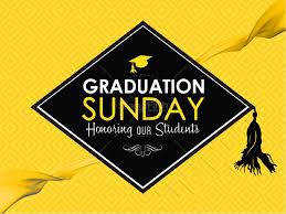 Invitation Card For Graduation Day Graduation Sunday Honoring Church Announcements Video Church