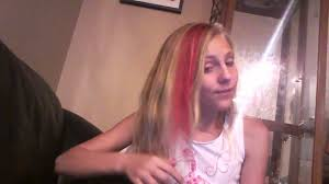 amazing temporary pink hair btz color mousse review youtube