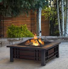 Outdoor Table With Firepit by 33 6