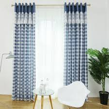 Blue Window Curtains by Compare Prices On White Curtains Bedroom Online Shopping Buy Low