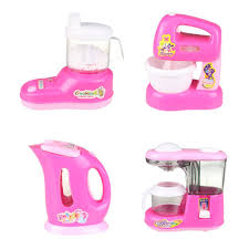 Pink Kitchen Accessories by Amazon Com Fajiabao Kitchen Playset Household Appliance Pretend