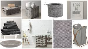 grey bathroom accessories bathroom decor