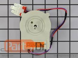 refrigerator evaporator fan replacement 4681jb1027n lg refrigerator evaporator fan motor parts dr