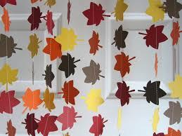 fice Design Homemade Paper Thanksgiving Decorations Bar