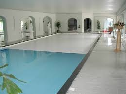 indoor outdoor automatic energy saving pool covers by pool cover