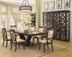 Stanley Dining Room Set by Pedestal Dining Room Table