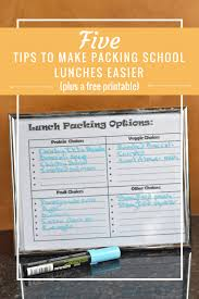 5 tips to make packing lunches less stressful honest and